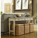 62'' Solid Wood Console Table and Stool Set by Trisha Yearwood Home Collection