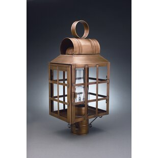 Pudsey Chimney Culvert Top H-Bars 1-Light Lantern Head by Darby Home Co