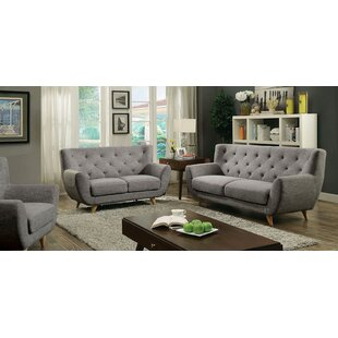 Carin 3 Piece Leather Living Room Set