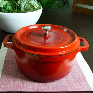 5 Qt. Edmound Aluminum Round Dutch Oven with Lid