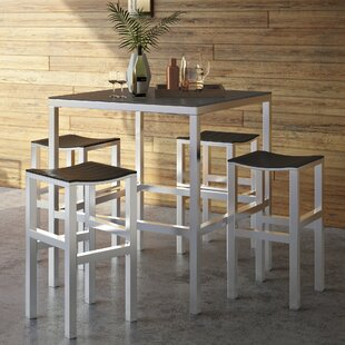 Anderson 5 Piece Bar Height Dining Set by..
