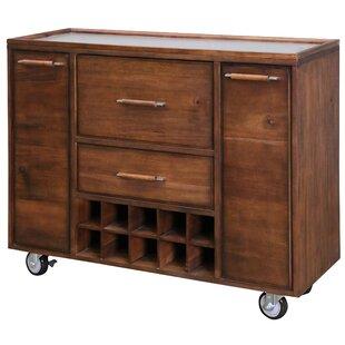 Salvador Mobile Bar Cabinet by Corrigan Studio