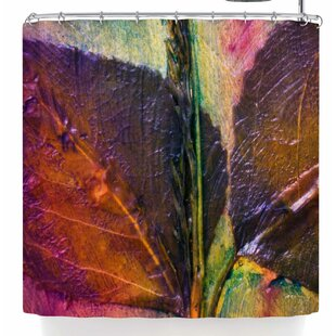East Urban Home Malia Shields Life Abstracts Series 1-3 Shower Curtain