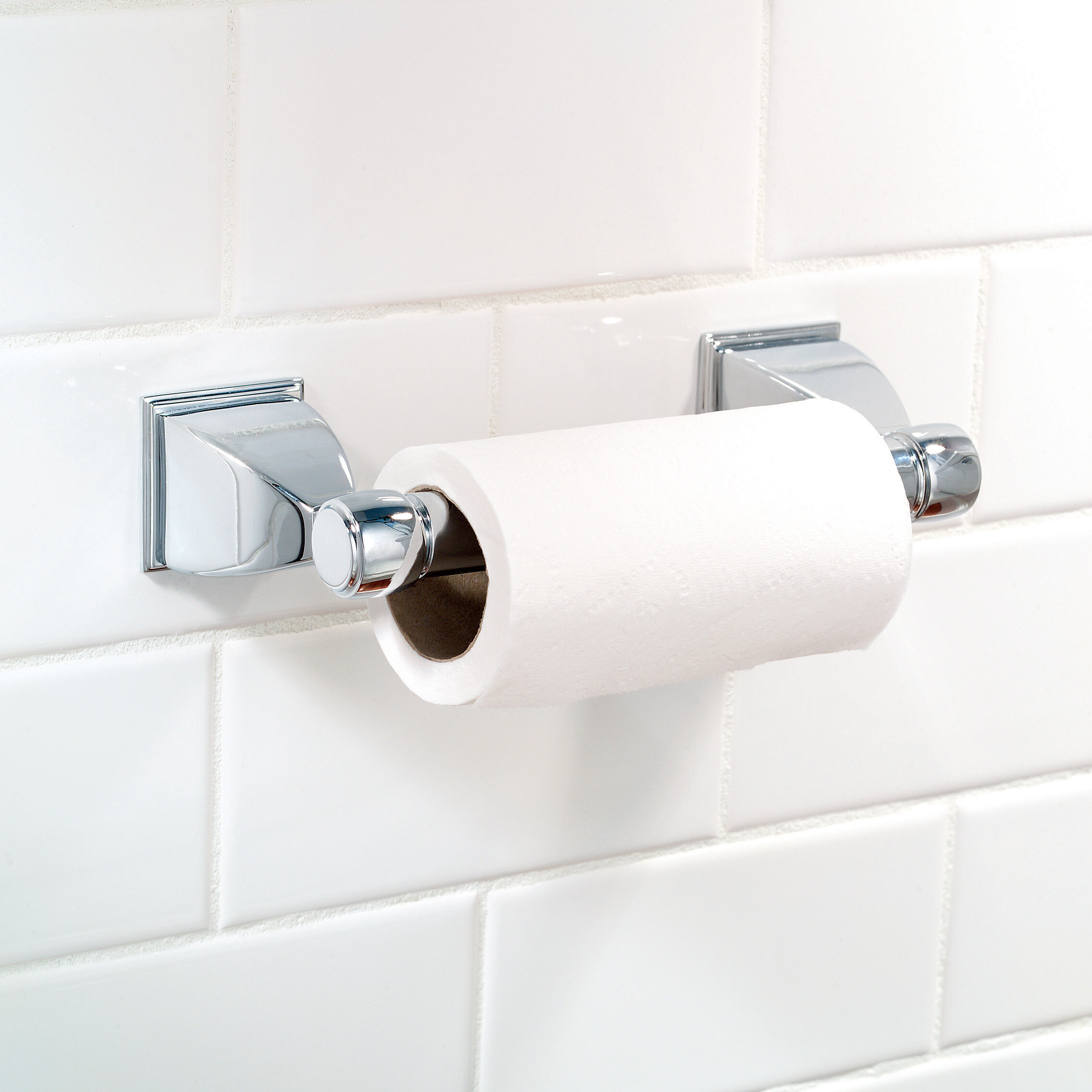 Ginger Quattro Double Post Wall Mount Toilet Paper Holder Wayfair