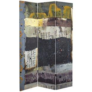 Sasaki 3 Panel Room Divider by Bloomsbury Market