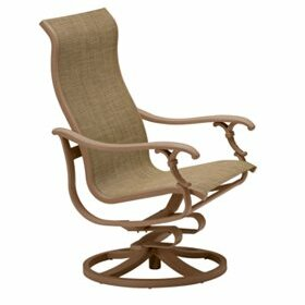 Ravello Swivel Patio Dining Chair by Tropitone