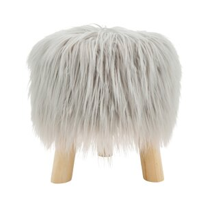 Great choice Ortegon Mane Attraction Faux Fur Accent Stool By Union Rustic