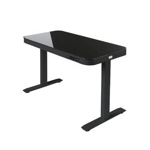 Top Reviews AIRLIFT® Tempered Glass Electric Standing Desk By Seville Classics