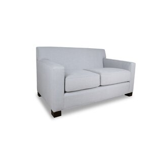 Latitude Run Tagen Plush Deep Loveseat