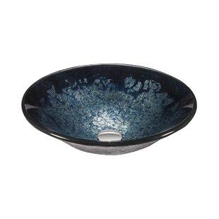 Top Reviews Glass Circular Vessel Bathroom Sink ByLegion Furniture