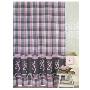 Buckmark Plaid Single Shower Curtain