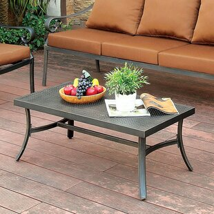 Find the perfect Villalobos Aluminum Coffee Table Good purchase