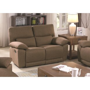 Affordable Price Westcliffe Reclining Loveseat by Latitude Run Reviews (2019) & Buyer's Guide