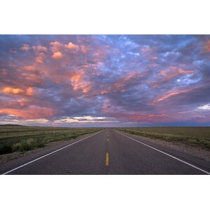 National Geographic Highway At Sunset Wall Mural Part 96
