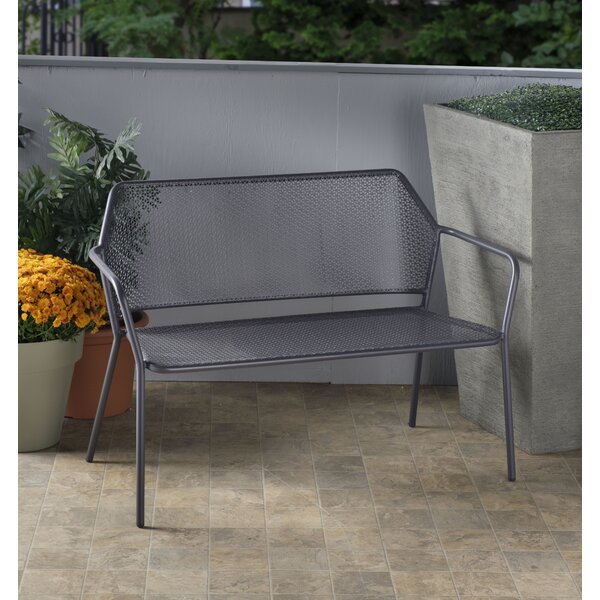 Fine Blanco Wrought Iron Bench Wayfair Ncnpc Chair Design For Home Ncnpcorg