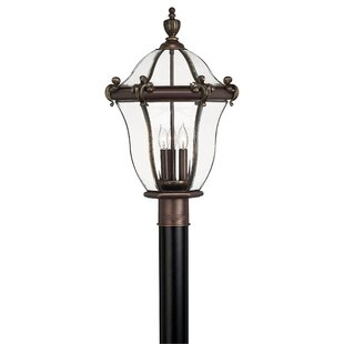 Guide to buy San Clemente Outdoor 3-Light Lantern Head By Hinkley Lighting