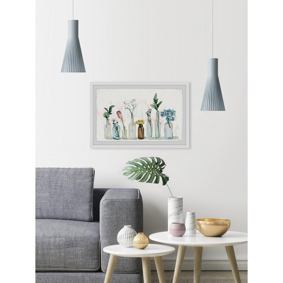 Unique Planters Framed Painting Print