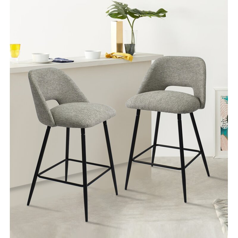 Corrigan Studio Manya 26 5 Counter Stool Reviews Wayfair