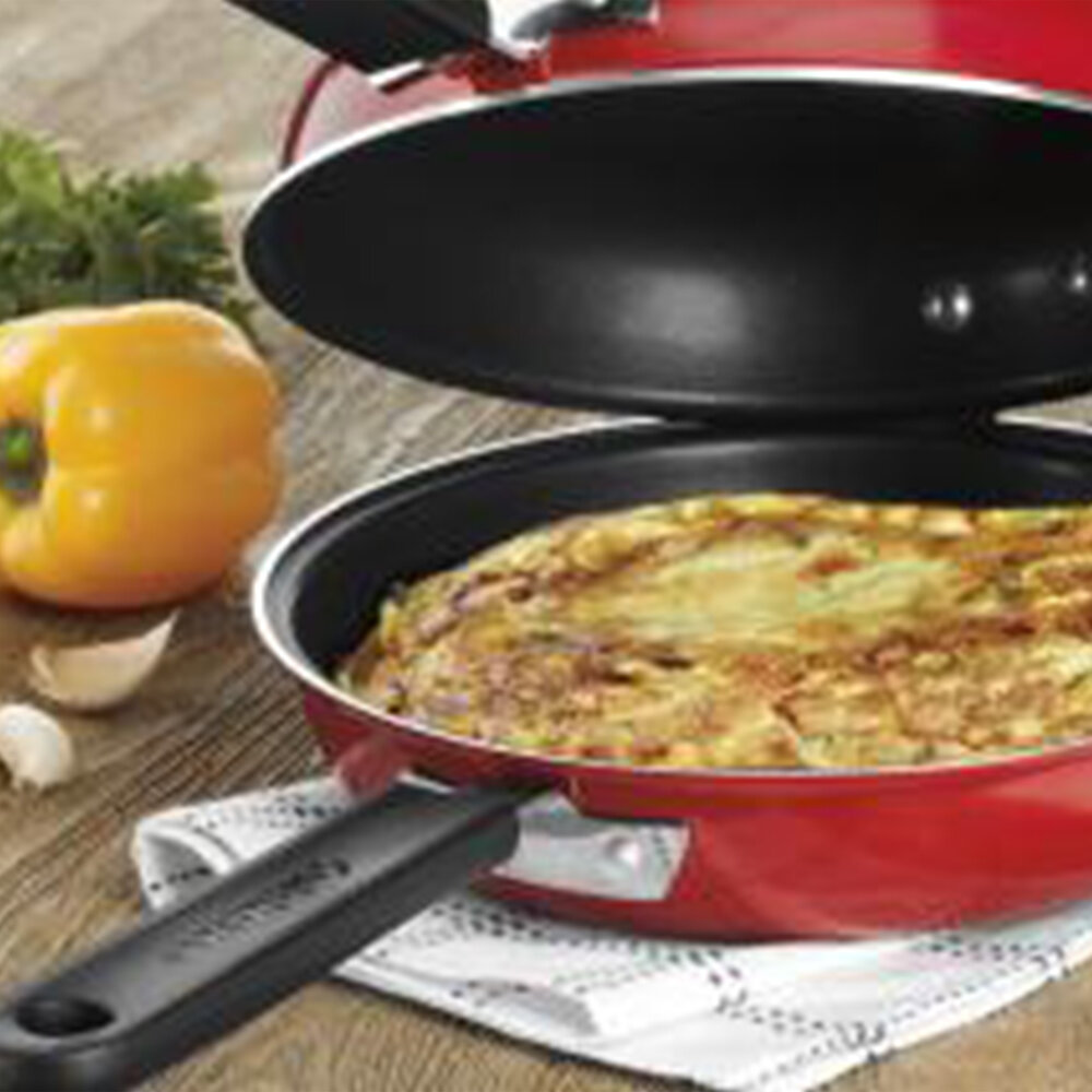 Kitchen & Dining Cuisinart FP2-24BK Frittata 10-Inch Nonstick Pan ...