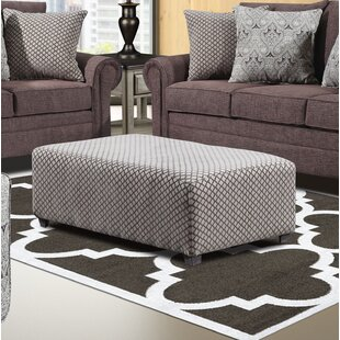 Lundys Ottoman by Darby Home Co