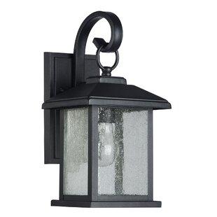 Charlton Home Magnusson 1-Light Outdoor Wall Lantern