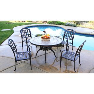 Feder 5 Piece Dining Set