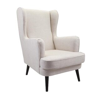 Woodland Imports Knox Wingback Arm Chair