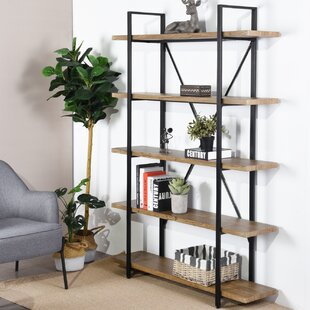 Schram Etagere Bookcase by Gracie Oaks 2019 Sale