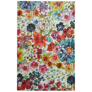 Green Pink Floral Rugs Youll Love Wayfair