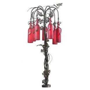 Best Reviews Tuscan Vineyard Wine Bottle 47 Table Lamp By Meyda Tiffany