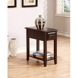 Kravitz End Table with Storage