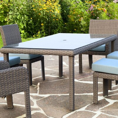 Sperber  Glass  Dining Table by Bay Isle Home Great price