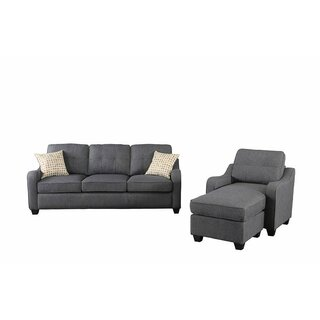 Alanson Reversible Modular Sectional with Ottoman by Wrought Studio SKU:AD740076 Buy