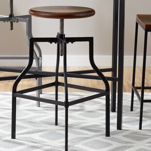 Bye Adjustable Height Swivel Bar Stool