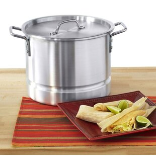 Mexicana 12-qt.Tamale Stock Pot with Lid
