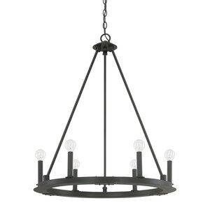 Shayla 6-Light Candle-Style Chandelier