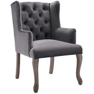 Dorothy Dining Velvet Wingback Chair