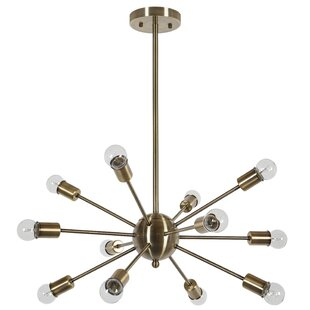 Gold sputnik light wayfair mozeypictures Image collections
