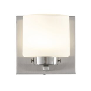 Read Reviews Jusino 1-Light LED Bath Sconce By Brayden Studio