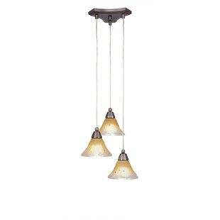 Nessa 3-Light Cascade Pendant by Red Barrel Studio