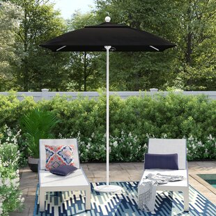 Caravelle 6' Square Market Sunbrella Umbrella by Sol 72 Outdoor Reviews
