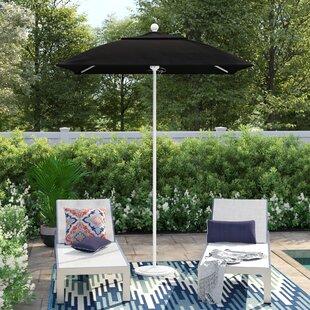 Caravelle 6' Square Market Sunbrella Umbrella