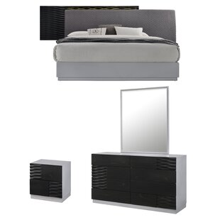Bernice Platform Configurable Bedroom Set