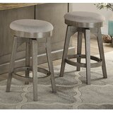 Cates Bar & Counter Swivel Stool (Set of 2) by One Allium Way®