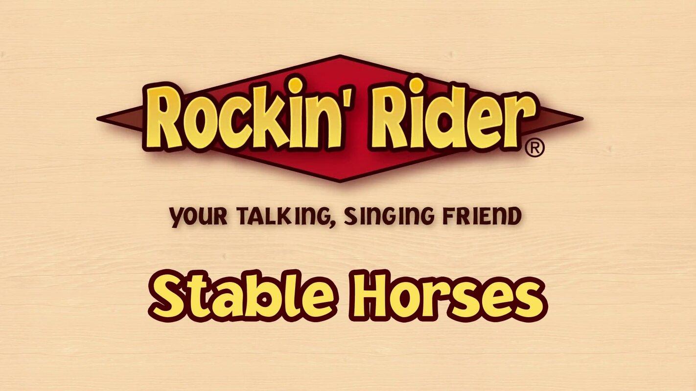 Rockin\' Rider Duchess Stable Horse & Reviews | Wayfair