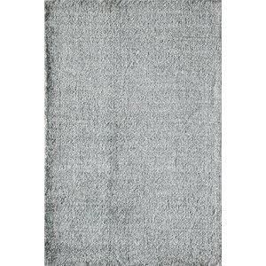 Cozy Enchanting Shag Gray Area Rug