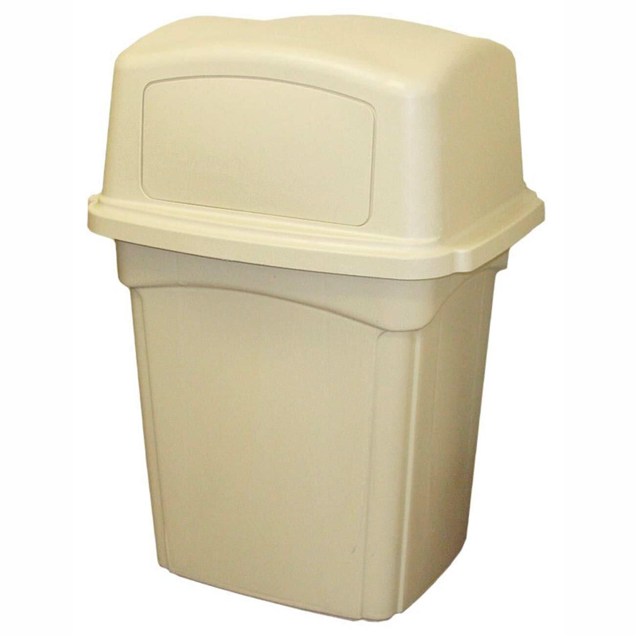 Continental Mfg Co Receptacle 45 Gallon Trash Can Wayfair