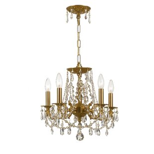 Hernadez 5-Light Crystal Chandelier