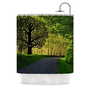 Love Nature Single Shower Curtain