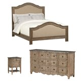 Morrisville Upholstered Standard Configurable Bedroom Set by August Grove